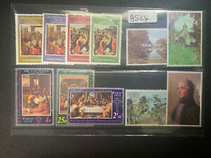 St.Kitts-Nevis-Anguilla 3x Sets 1969 Xmas,1973Last Supper,1980 London MNH (A524)
