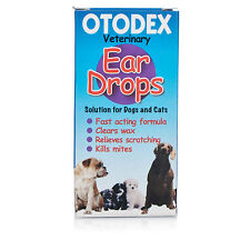 Otodex Ear Drops For Dogs And Cats  14ml