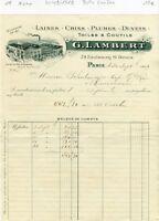 Paris X ème 79 Faubourg Saint Denis & Dépt 93 - Belle Entête G LAMBERT de 1919