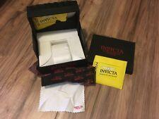 Invicta Watch Case - big case black Invicta Signature Collection