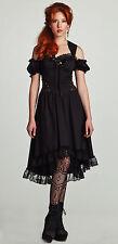 Lip Service Winchester Emporium Steampunk Victorian Gothic Lolita Black Dress