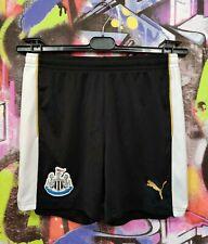 Newcastle United Fc Magpies Football Soccer Shorts Puma Boys Youth Xl 14-13 Y