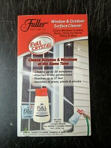 Fuller Brush Co Full Crystal Window and Glass Cleaner Kit with Cleaning Powder
