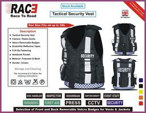 New Hi Viz Tactical Vest Security,CCTV, Enforcement, Dog Handler Tac Vest