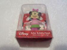 Ruz Disney Christmas X-Mas Solar Bobble-Head Bobblehead Minnie Mouse