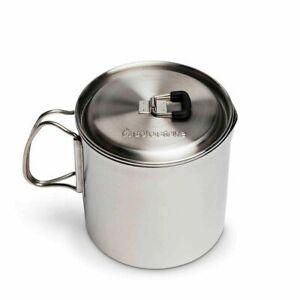 Solo Stove Solo Pot 900 – leichter Edelstahl-Topf für Rucksackreisen