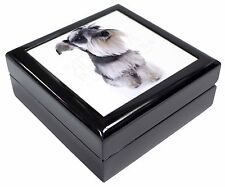 Schnauzer Dog Keepsake/Jewellery Box Christmas Gift, AD-S67JB
