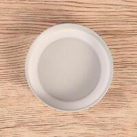 4 pcs Sealing Metal Caps Leakproof Tin Lids for Collection Bottles Wide-Neck Jar