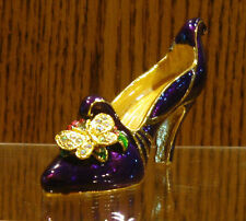 """Welforth Pewter #RF470 HIGH HEEL SHOE, New From Retail Store, 2"""" x 2.75"""" x 0.75"""""""