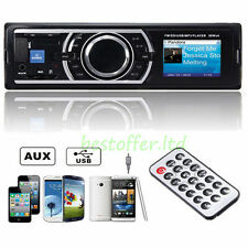 CAR RADIO STEREO SD FM PLAYER iPHONE USB ANDROID AUX PANDORA MP3