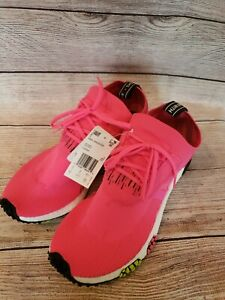 Adidas Originals NMD Racer PK Primeknit Sz 9.5 BOOST Solar Pink CQ2442 NEW