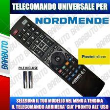 TELECOMANDO UNIVERSALE NORDMENDE, CLICCA IL TUO MODELLO LO RICEVERAI GIA PRONTO