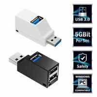Mini USB Ports 3.0 2.0 Splitter Hub Speed ​​Data Transfer Expander Box PC Laptop