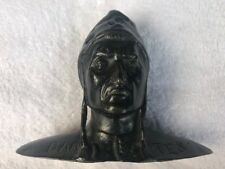 Bronze 19th century Dante Alighieri antique bust