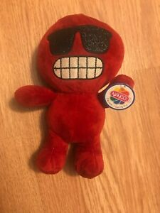 Nanco Red Emoji stuffed Plush Toy Brand New with tags
