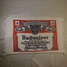 "Vintage Budweiser Hand Towel - 24"" x 14"""