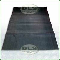 """Rear Loadspace Ribbed Rubber Mat Land Rover Series 88"""" SWB (331401)"""