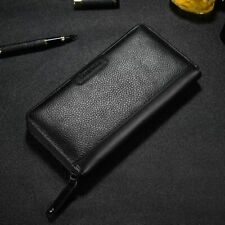Mens Long Business Wallet Male Luxury Card Holder Style Fashion Coin Purse