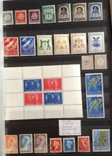 28 Old Suriname Stamps - Mint & Used - 1936 to 1964