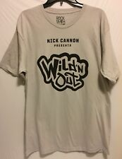 Men's Nick Cannon Wild'N Out Rap Hip Hop Rocksmith MTV Gray T-Shirt Large