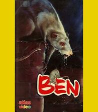 BEN die Ratte ATLAS BUCHBOX VHS Lee Montgomery Joseph Campanella WILLARD 2 Kult