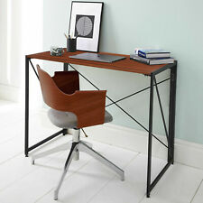 Industrial Style Folding Computer Desk Study Laptop Office Notebook Console