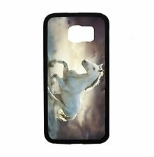 White Horse Running Wild for Samsung Galaxy S6 i9700 Case Cover By Atomic Market