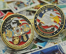 U.S. Army Grateful Nation Never Forget Freedom Commemorative Challenge Coin Gift