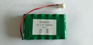AA NiMH 7.2v 1200mAh Battery Spare Pack & Plug for Toys Power Bank G.P. 7.2 Volt
