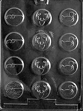 Hunter Rifle Deer Duck Chocolate Mold Soap Candy Mint Molds SHIPS SAME DAY m106