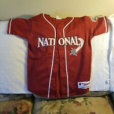 ALL STAR GAME JERSEY - YOUTH MEDIUM - MLB NATIONAL LEAGUE - THROWBACK - MAJESTIC