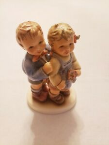 """Hummel""""Double Delight""""HUM #849~4.50"""" Tall Figurine with Original Box"""