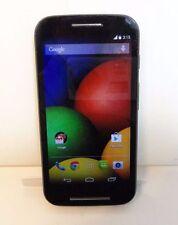 ☆ Motorola Moto E XT830C ☆ Black ☆ Prepaid ☆ TracFone Smartphone ☆ MINOR CRACK ☆