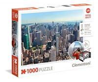 Clementoni 39401 High Quality 1000 Piece Virtual Reality New York Jigsaw Puzzle