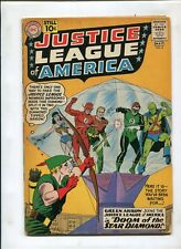 JUSTICE LEAGUE OF AMERICA #4 (4.0) DOOM OF THE STAR DIAMOND!