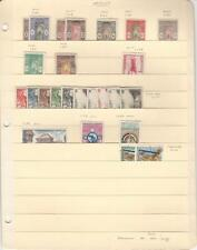 Dahomey Stamp Collection on Stock Sheet, Nice French Era Lot