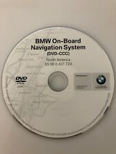 Genuine OEM BMW Navigation DVD CD Map # 724 For 2009 650i 650 M6 iDrive DVD-CCC