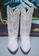 "SEVEN STARS ""Imitation Hornback Alligator"" Cowboy Boots Men's Sz US 9A Mex 28A"