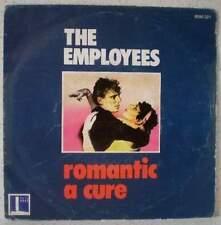 "The EMPLOYEES Romantic (LISTEN) RARE 7"" 1982 new wave-punk rock BELGIUM"