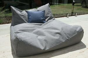 New Whitehaven Outdoor Double Pool Beanbag bigboy 120cm x 110cm lounger luxury