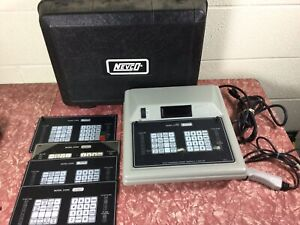 Used Nevco Scoreboard MPC control MPC-4A Controller With Case And Extra Cards