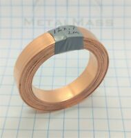 12mm x 0.7mm x 2m High Purity T1 99.96% Low Oxygen Copper Strip Strap battery