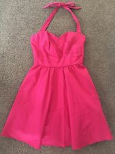 NEW OASIS PINK Removable Halter Neck Straps Corset Underskirt Prom Dress-Size 8