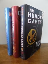 The Hunger Games Books by SUZANNE COLLINS Trilogy Complete Set 1-3 Lot