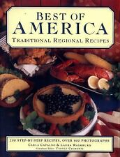 BEST OF AMERICA  / 200 Step-by-Step Recipes by Carla Capalabo & Laura Washburn