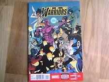 MARVEL New Warriors graphic comic issue #11 Dec 2014 NEW Yost Burnham To Redmond