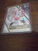 2016-17 PANINI ABSOLUTE BROOK LOPEZ GOLD REFRACTOR CARD 4/10 BROOKLYN NETS