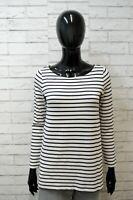MAX MARA Maglione Maglia Donna Taglia M Pullover a Righe Felpa Sweater Shirt