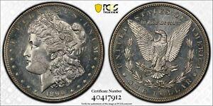 1890 S Morgan Silver Dollar - PCGS MS 62 - Undergraded ?? - PL Surfaces ??