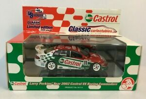 2002 LARRY PERKINS CASTROL RACING HOLDEN VX COMMODORE 1:43 SCALE MODEL CAR
